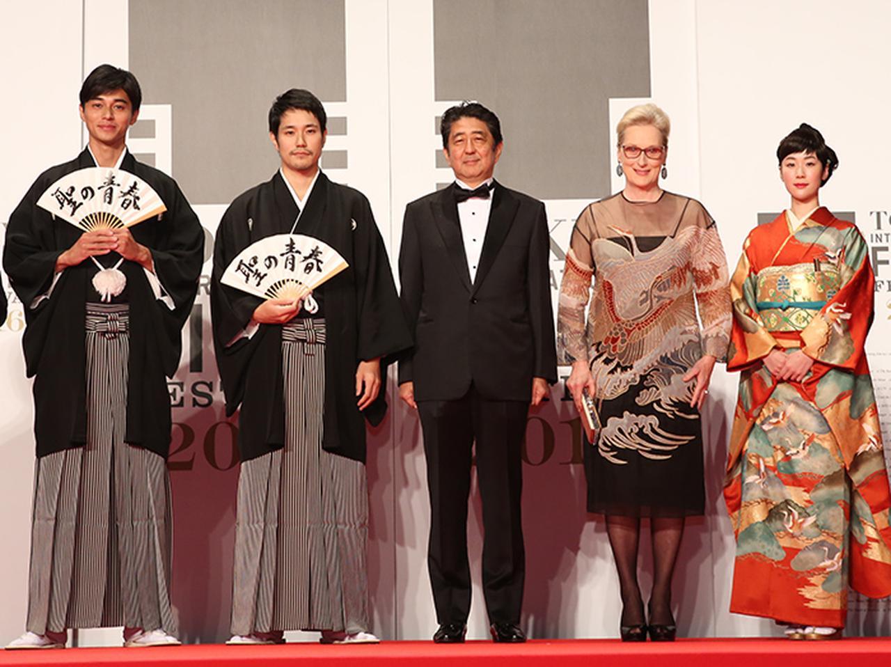 画像: 第29回東京国際映画祭、開幕。 名女優メリル・ストリープが安倍首相と登壇!