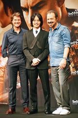 画像: トム・クルーズ、『ラストサムライ』で共演した 池松壮亮と13年ぶりの再会に感激!