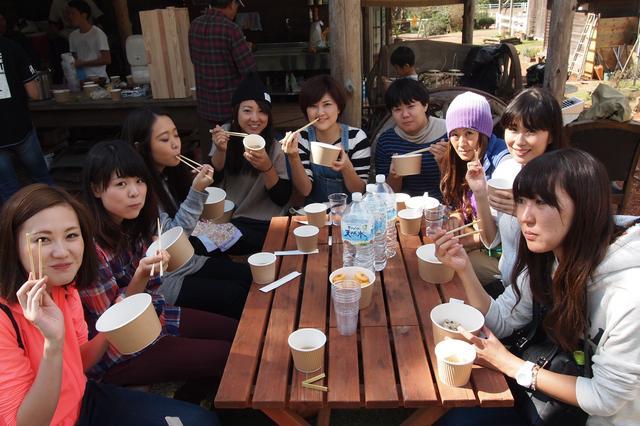 画像5: 食欲全開!秋の味覚に舌鼓 Farming Event Report【2015.10.18】
