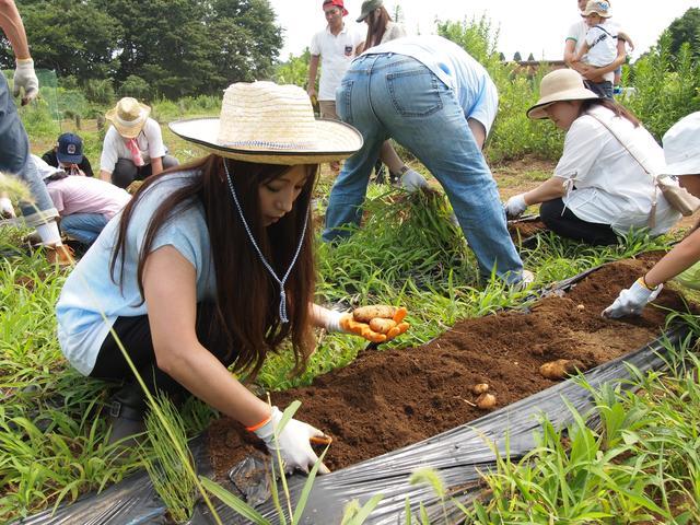 画像4: 夏恒例の「流しそうめん」 でも暑さは克服できず!? Farming Event Report【2015.7.26】
