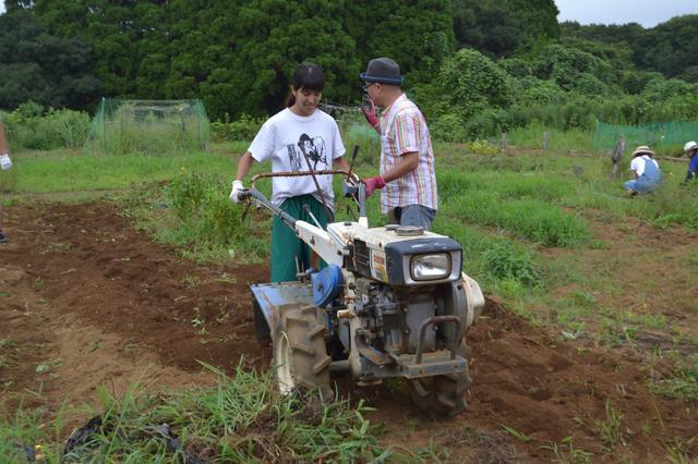 画像3: 鳥ニモマケズ、猛暑ニモマケズ! 甘〜く育った小玉すいかを収穫 Farming Event Report【2015.8.23】