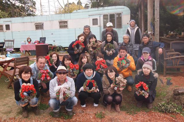 画像6: レタス豊作&クリスマスリースを手作り Farming Event Report【2016.11.29】