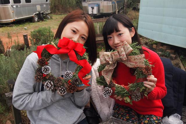 画像4: レタス豊作&クリスマスリースを手作り Farming Event Report【2016.11.29】