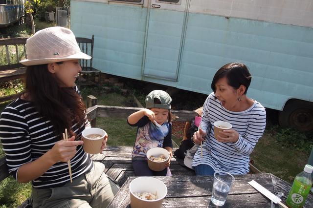 画像4: 食欲全開!秋の味覚に舌鼓 Farming Event Report【2015.10.18】
