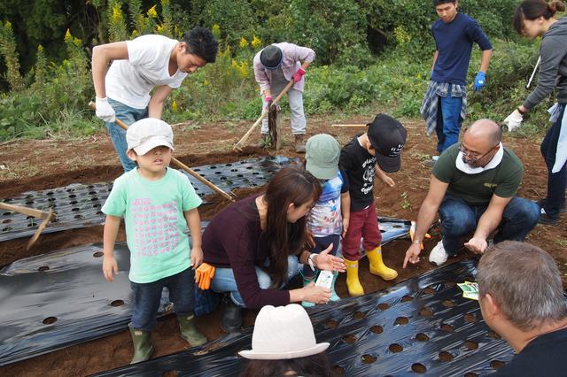 画像2: 食欲全開!秋の味覚に舌鼓 Farming Event Report【2015.10.18】
