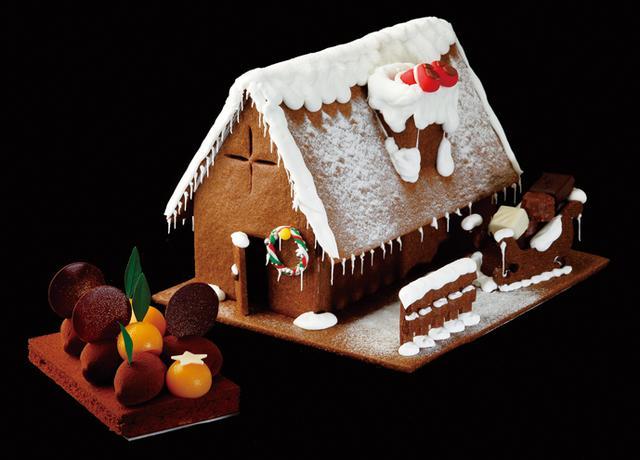 画像: パレスホテル東京のクリスマスケーキ