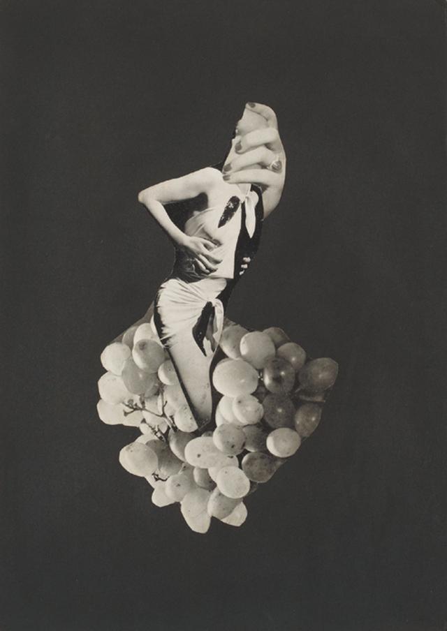 画像: 《作品》1937年頃、コラージュ、東京国立近代美術館蔵