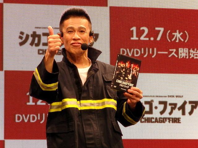 """画像: """"日本一長い始球式""""の柳沢慎吾「来年は10分超え!」"""
