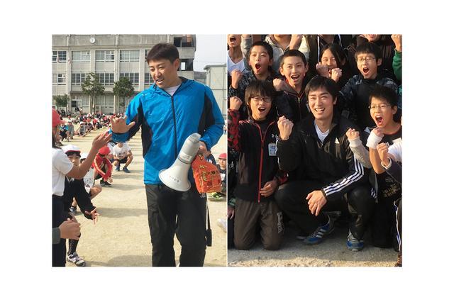 画像1: 12月8日、福岡市の玄洋小学校に内川聖一先生を迎えての夢の課外授業を行いました。内川先生を迎えると子どもたちか... lojim.jp