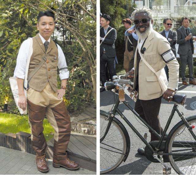 画像: それぞれこだわりのツイードアイテムを見に付けた参加者たち。ツイードファッションのオシャレさ、着心地の良さを再認識!