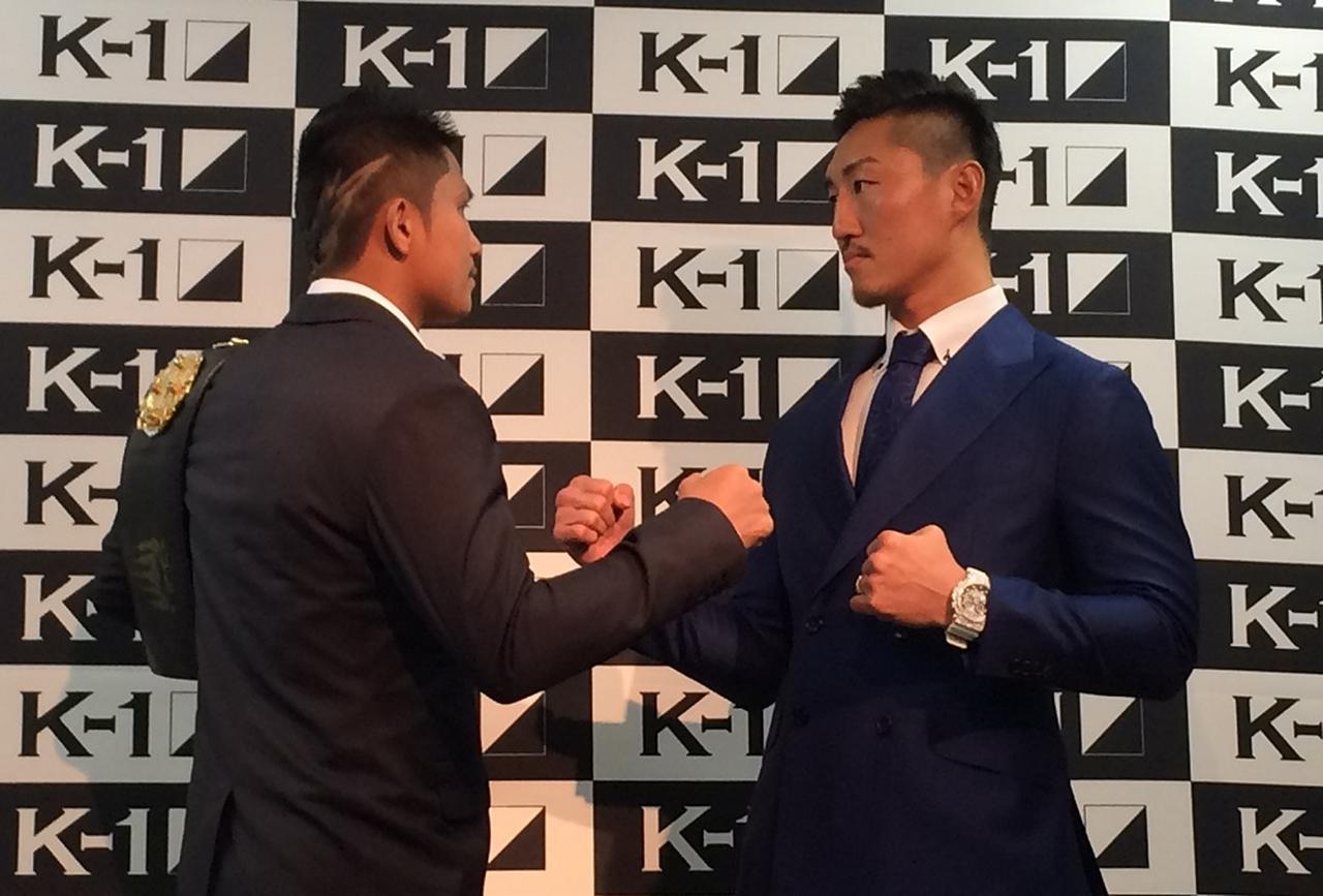 画像: タイトルをかけて戦うゲーオ(左)と山崎