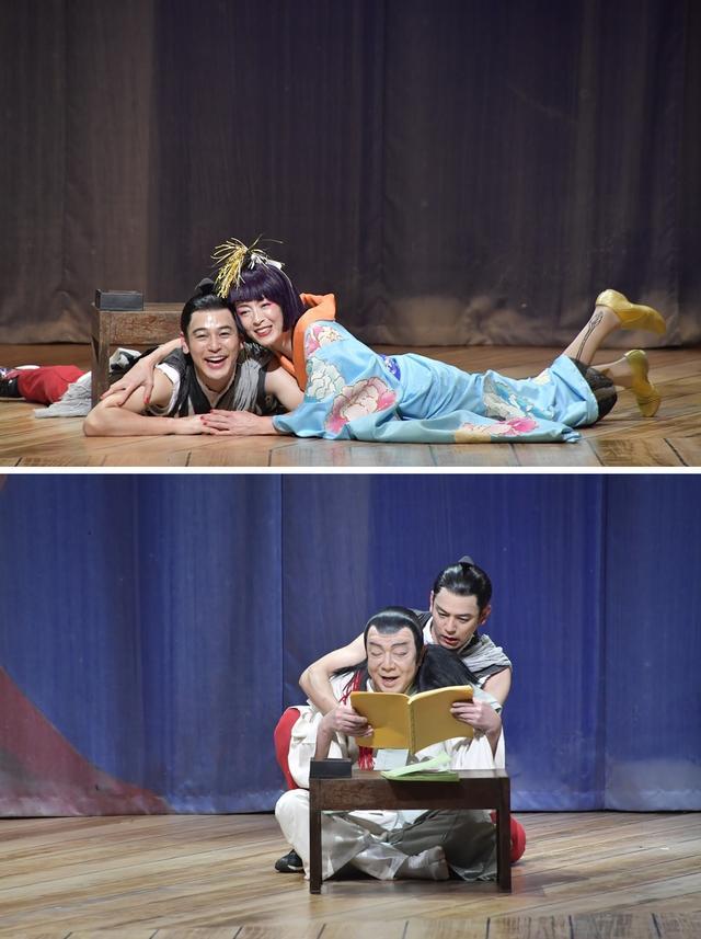 画像: 公開舞台稽古から(撮影・蔦野裕)