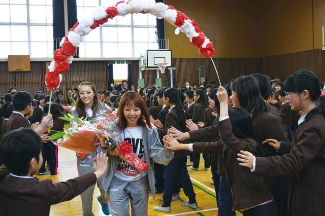 画像: 第202回2.11 OA Ayaさん、Shizukaさん、山口乃々華さん(E-girls)