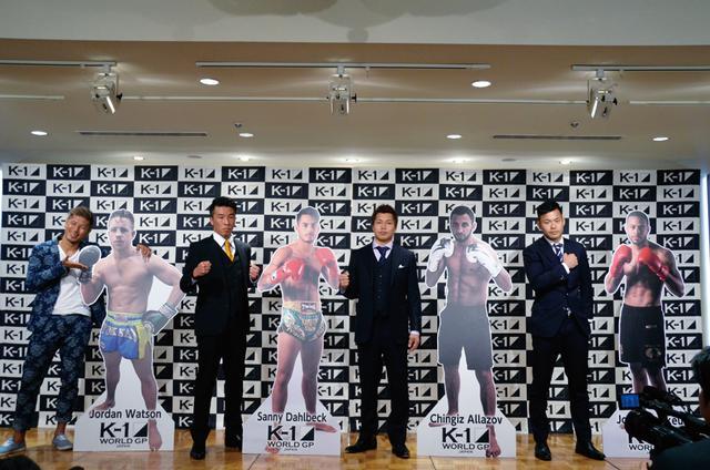 画像: トーナメントに参戦する城戸康裕、廣野祐、中島弘貴、日菜太(左から)