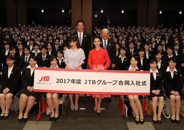 画像: 武井咲が新入社員にエール「愛ある厳しさで指導していただける」