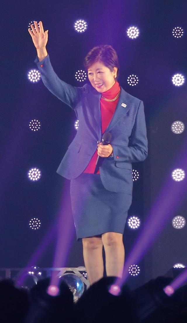 画像: 小池百合子東京都知事も会場の熱気に感動!