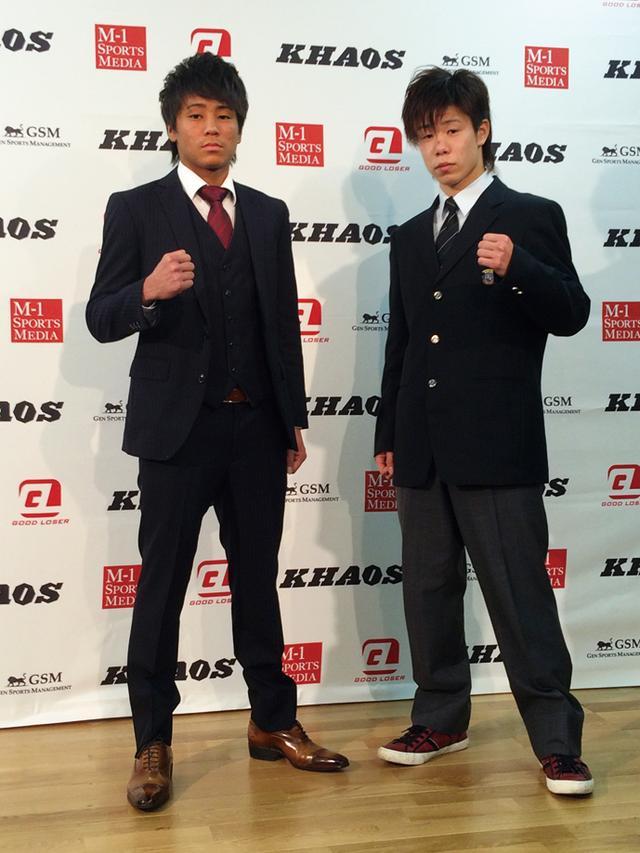 画像: 軍司(左)と龍矢