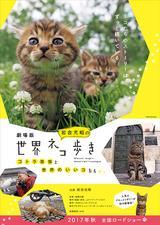 """画像: 番組ファンの猫たちも大喜び!? """"世界ネコ歩き""""が映画に!"""