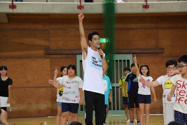画像4: EXILE小林直己、THE RAMPAGEが熊本で『夢の課外授業』