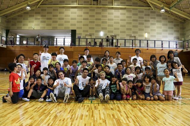 画像1: EXILE小林直己、THE RAMPAGEが熊本で『夢の課外授業』
