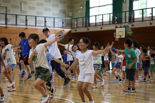 画像2: EXILE小林直己、THE RAMPAGE神谷健太 与那嶺瑠唯 熊本の小学校で 『夢の課外授業』 を開催!