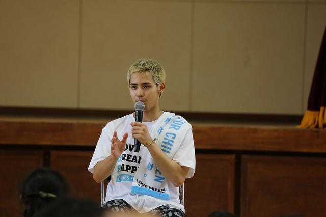 画像3: EXILE小林直己、THE RAMPAGE神谷健太 与那嶺瑠唯 熊本の小学校で 『夢の課外授業』 を開催!