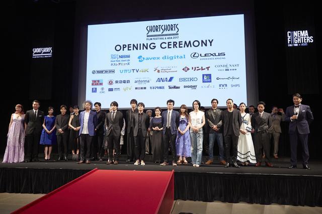 画像1: ショートフィルムの国際映画祭、開幕!  オープニングイベントに豪華な顔ぶれ