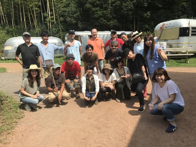 画像4: イノシシ対策は残念な結果に…新ピザ窯で夏野菜ピザ作り! Farming Event Report【2017.8.27】