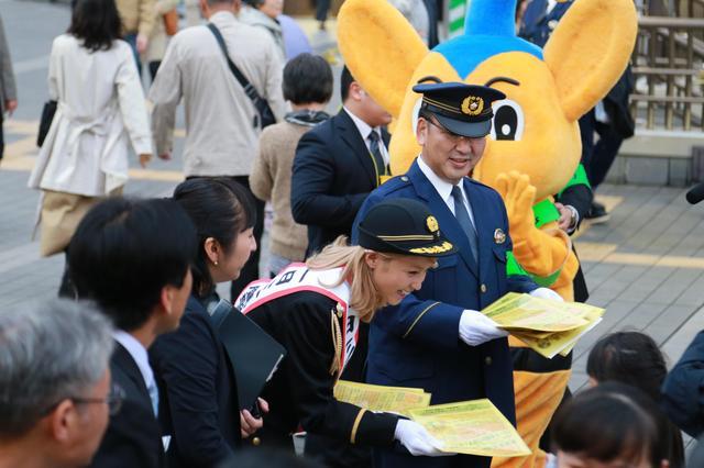 画像4: Dream Ami 警視庁三鷹警察署、初の一日警察署長に就任! 「身が引き締まるような思いでした」