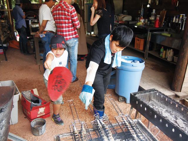 画像4: 秋の味覚・秋刀魚の炭火焼きに、謎の本格トルコ料理が乱入!? Farming Event Report【2017.9.24】