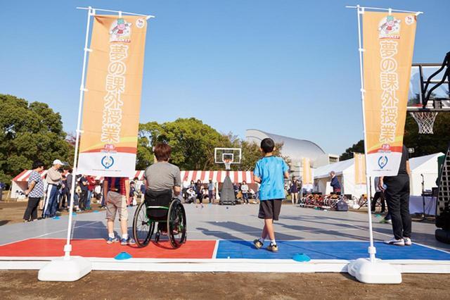 画像: トップアスリートの指導で車いすバスケに初挑戦
