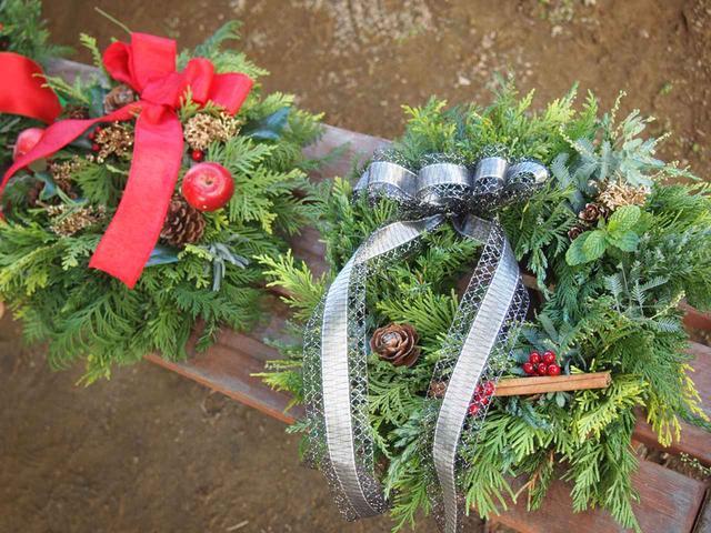 画像5: 葉物大収穫祭で年納め&クリスマスリース作りで年末の準備もOK【2017.11.26】