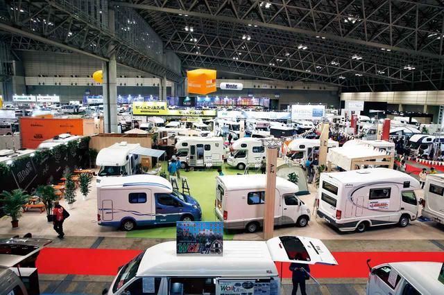 画像: 2020年に向けて人気沸騰中!  1日1万からのレンタルキャンピングカーも登場 「ジャパン キャンピングカーショー2018」レポート