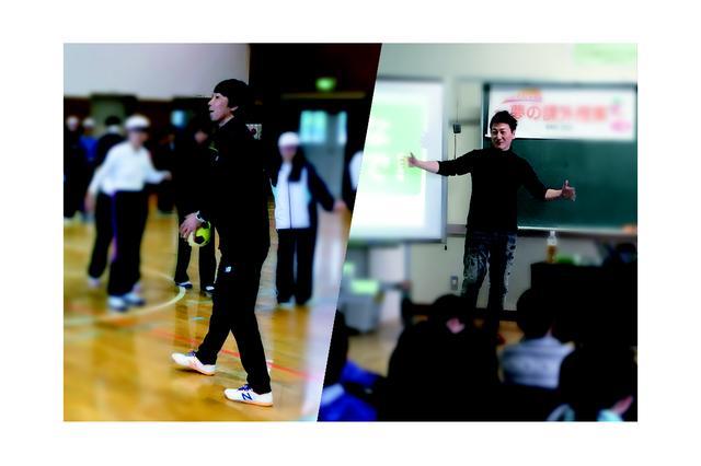 画像: 山下芳輝先生、堀潤先生をお迎えして夢の課外授業。