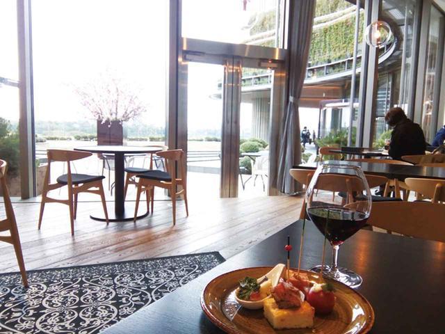 画像: 6階の屋外庭園パークビューガーデンを囲むガーデンレストラン〈DRAWING HOUSE OF HIBIYA〉では日本のテロワールをテーマに季節の厳選食材を使ったフレンチベースの多彩なディッシュを味わうことができる(6F)