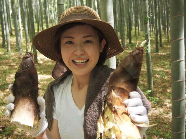画像5: 豊作には畑のメンテナンスが大事!タケノコ狩りと青空ごはんも【2018.4.22】