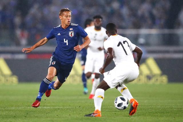 画像: サッカー日本代表がガーナに0-2。西野監督「いろいろなトライができた」