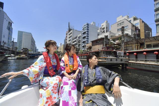 画像: 東京のランドマークと川から自撮り!【初夏のTOKYOリバークルーズ】