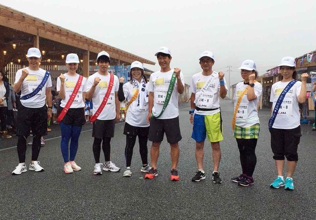 画像: 【1000km縦断リレー】6日目スタート!  元ブランメル仙台の水内猛さんらがたすきつなぐ