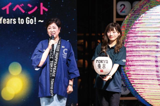 画像4: 東京2020大会まで「あと2年!」池江選手「国民全員でメダルを」