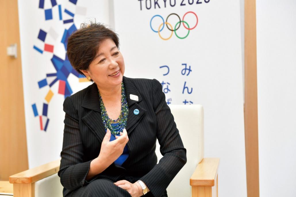画像: 小池百合子東京都知事「開閉会式の4日間はCO2排出0にします」