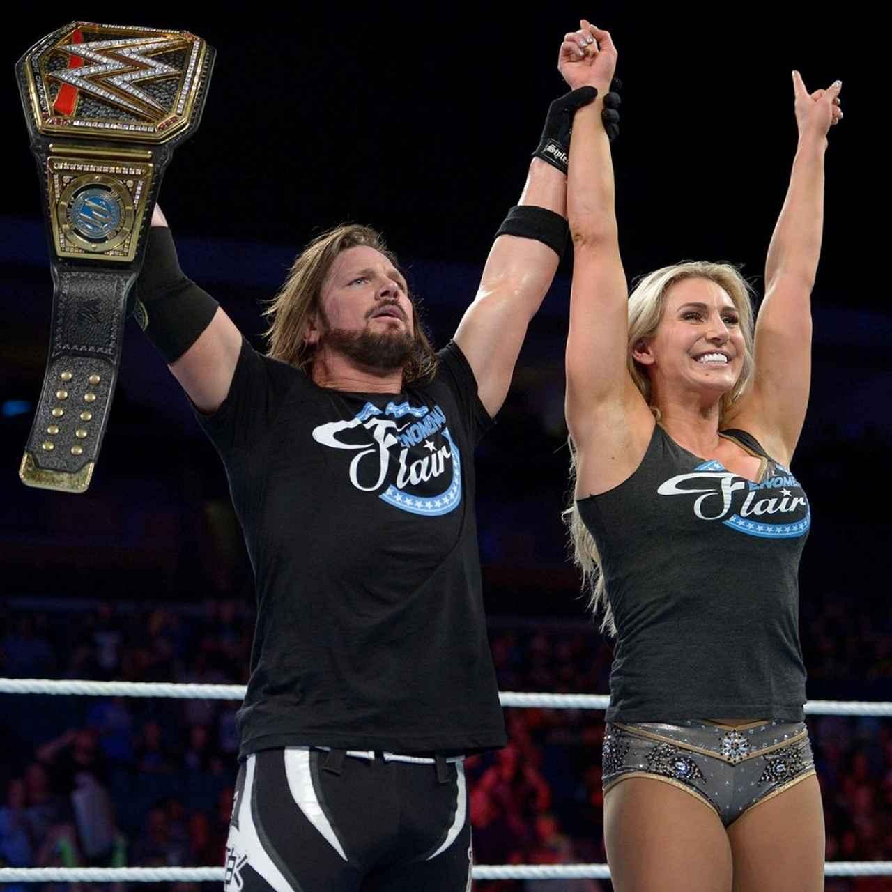 画像: 男女混合タッグ戦でストローマン組とAJスタイルズ組が勝利【WWE】