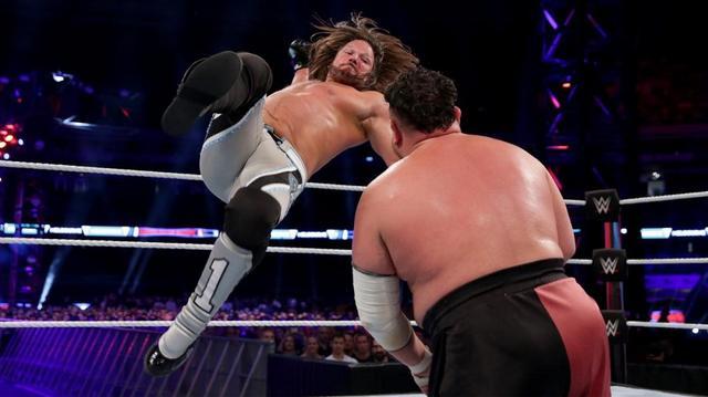 画像: AJスタイルズがジョーとの遺恨マッチに勝利。次はブライアンと王座戦【10・6 WWE】