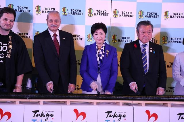 画像: インバウンド増加は「東京、おいしい」のお陰と小池知事