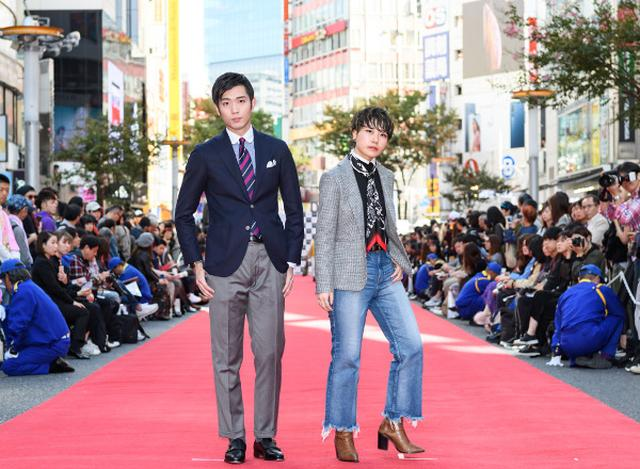 画像: 渋谷で路上ファッションショー Dream Amiもランウェイ