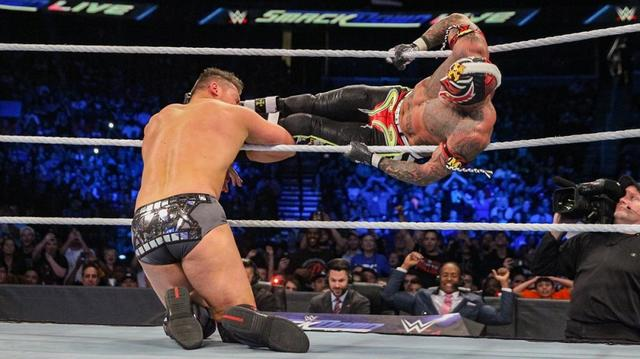 画像: 「WWEワールドカップ」前哨戦でミステリオとオートンが勝利【10・23 WWE】