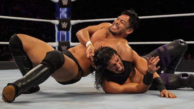 画像: ヒデオ・イタミが因縁のアリに不覚のフォール負け【10・25 WWE】