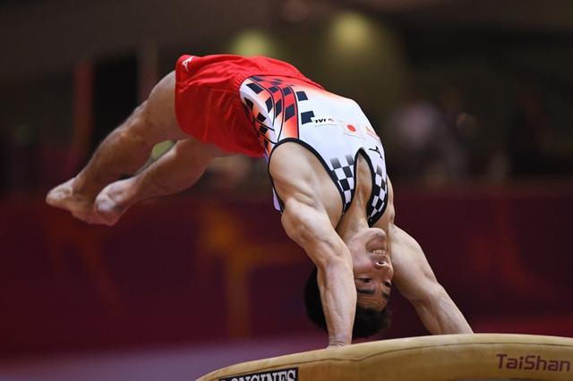 画像: 世界体操/跳馬・白井健三【プロの瞬撮】