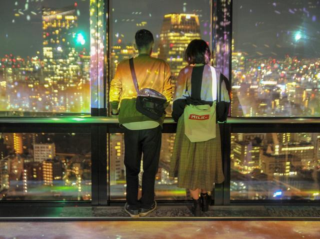 画像: 東京タワー冬のプロジェクションマピングは「ロマンチック」と「POP」の2本立て!