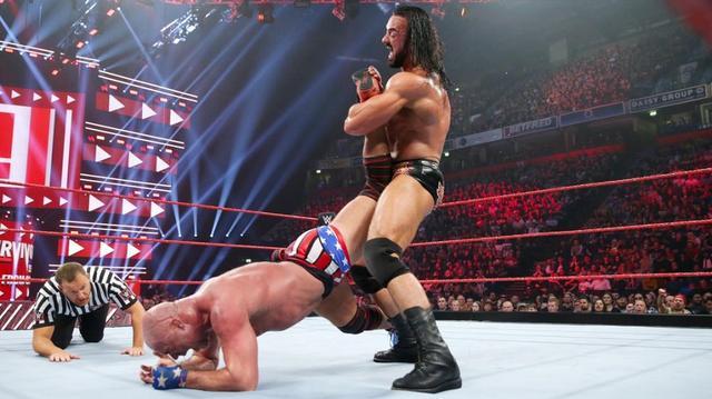 画像: ロウ・キャプテン決定戦でカート・アングルが屈辱のギブアップ【11・5 WWE】